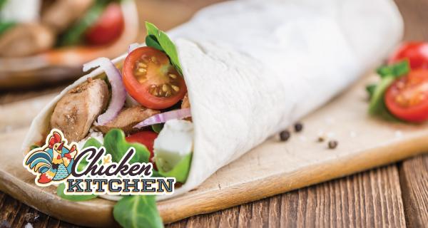 Chicken Kitchen Chicken Caprese Wrap